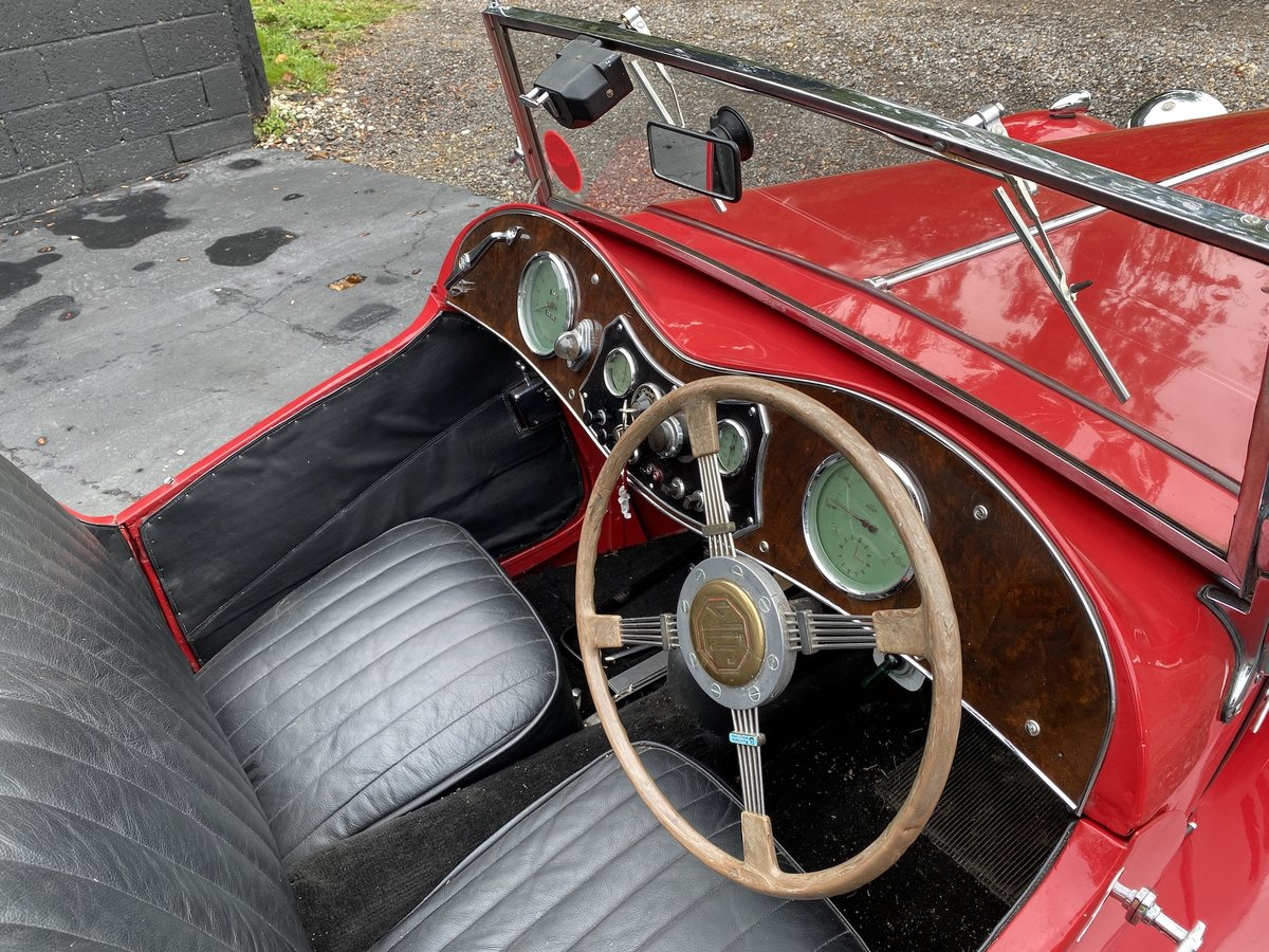 1937 MG TA Original engine & VSCC eligible SOLD (picture 3 of 7)