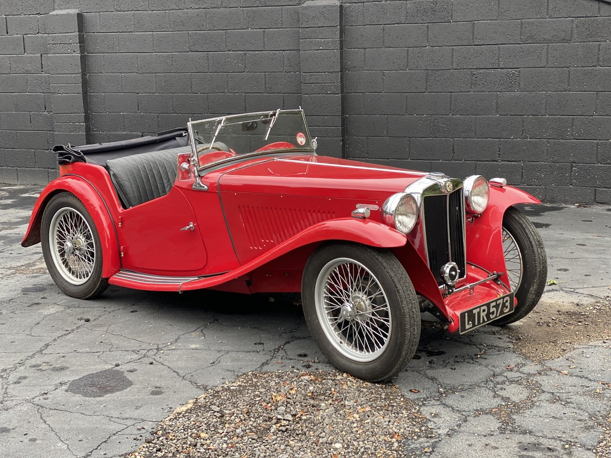 1937 MG TA Original engine & VSCC eligible SOLD (picture 7 of 7)