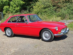 Picture of MG B GT, 1969, Tartan Red For Sale