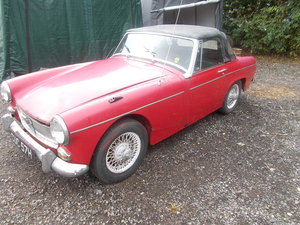 MG MIDGET 1969 ONLY 16,000  MILES  NEEDS  FULL RESTORATION