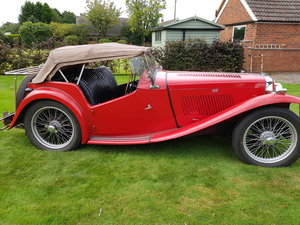 Picture of 1949 MG TC Red - SOLD