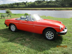 MGB ROADSTER LOW MILAGE