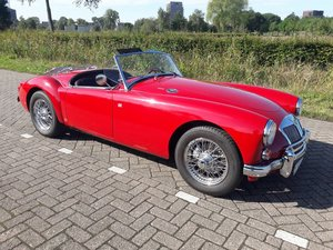Picture of MGA 1600 CABRIOLET 1958 dutch license 29900 euro SOLD