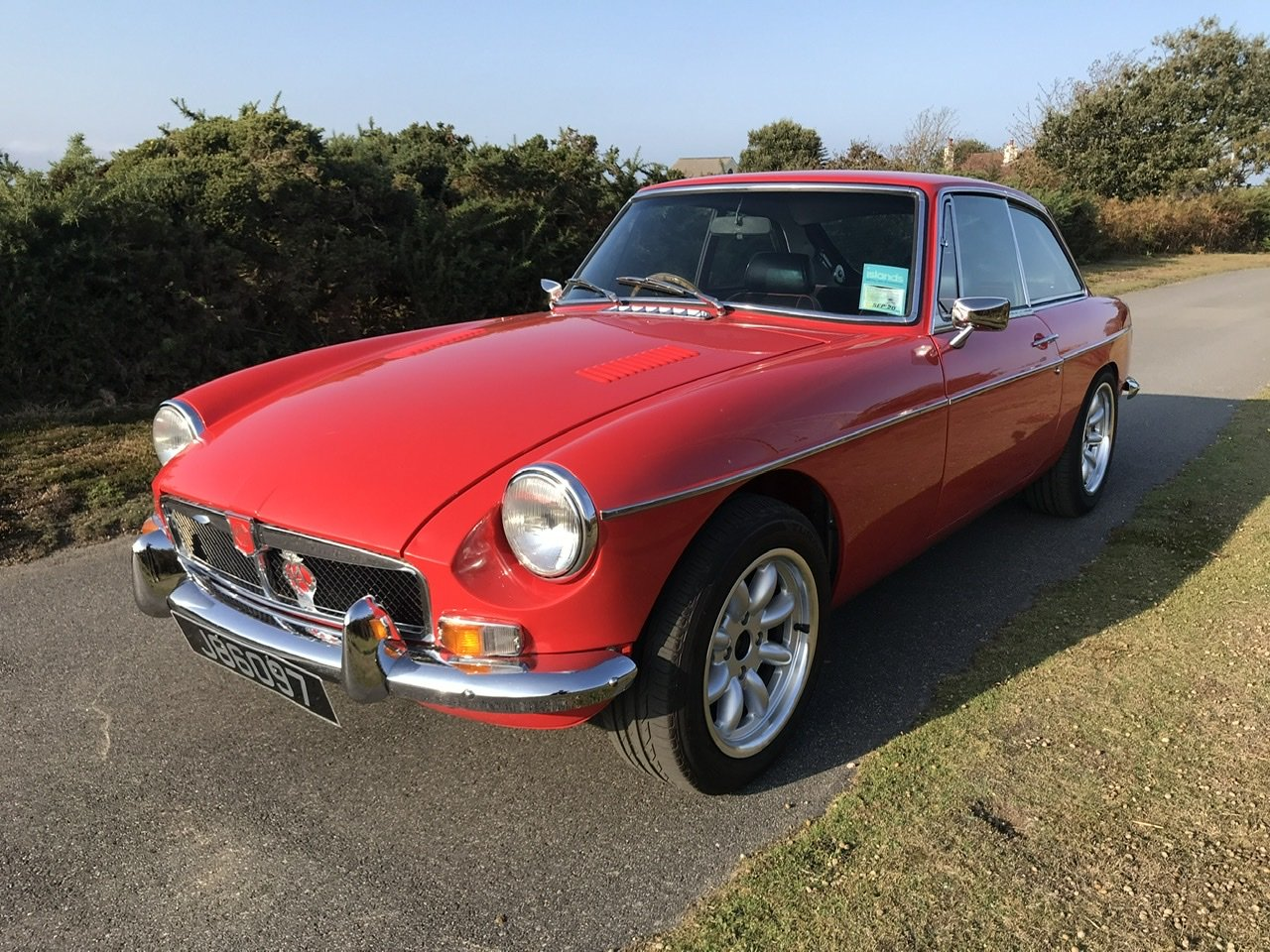 1972 MGB GT. Well maintained and looked after Jersey car For Sale (picture 1 of 6)