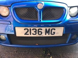 2136MG Number Plate