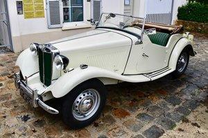 1952 MGTD LEFT HAND DRIVE Nut & Bolt Restored