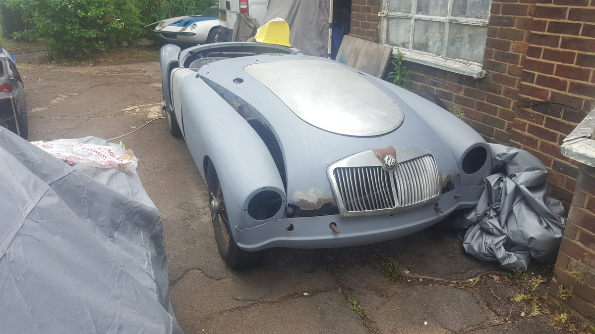 1956 MGA ROADSTER PROJECT For Sale (picture 5 of 6)