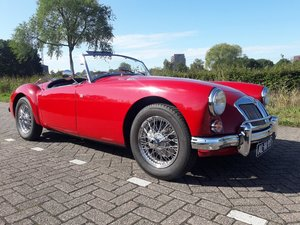 Picture of MGA 1600 CABRIOLET 1958 red dutch license 29900 euro. For Sale