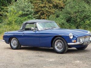 MG B Roadster, 1966, Mineral Blue