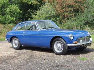 MG B GT Mk1, 1967, Mineral Blue