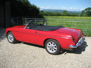 Picture of 1969 MG C with Stage 2 John Chatham Engine