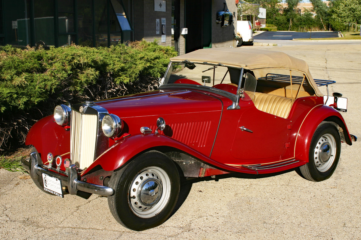 1953 MG TD SOLD (picture 1 of 6)