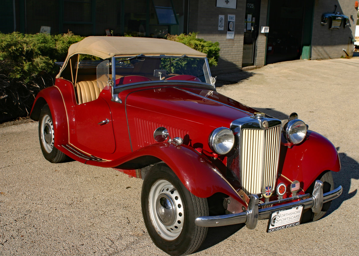 1953 MG TD SOLD (picture 2 of 6)