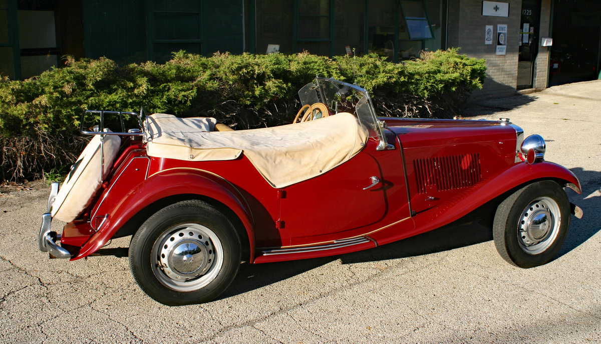 1953 MG TD SOLD (picture 3 of 6)