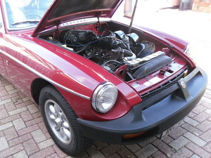 MGB GT 39000 miles Carmine red