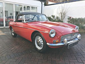 Picture of 1963 MGB. EARLY PULL HANDLE. HERITAGE SHELL. For Sale