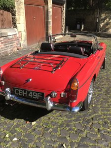 MGC ROADSTER OUTSTANDING CONDITION
