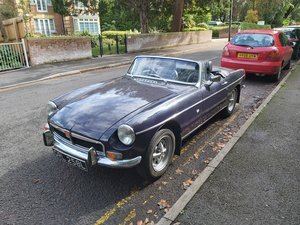 Picture of 1972 Beautiful cherished MGB Roadster