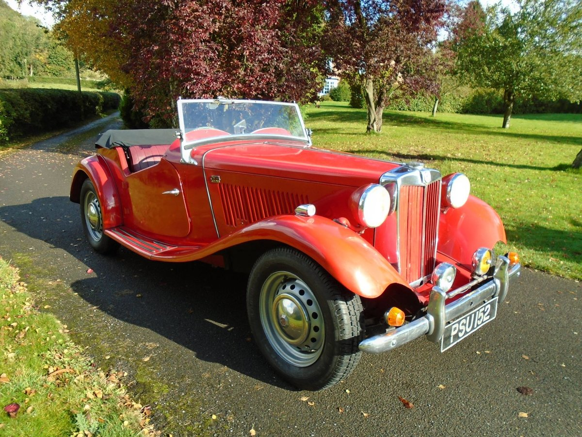 1952 MG TD For Sale (picture 1 of 6)
