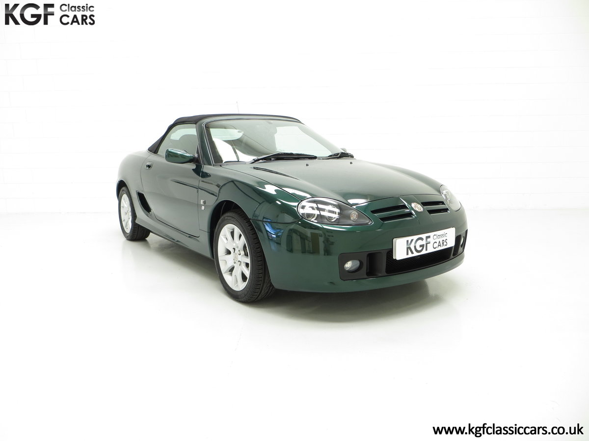 2006 An Astonishing Very Late MG TF 135 with 7,369 Miles SOLD (picture 1 of 24)