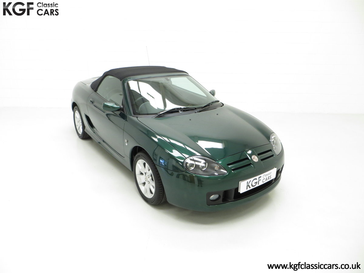 2006 An Astonishing Very Late MG TF 135 with 7,369 Miles SOLD (picture 2 of 24)