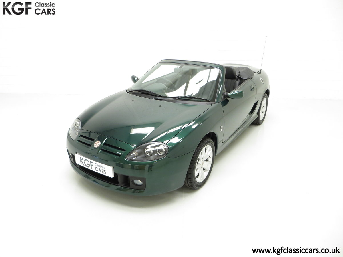 2006 An Astonishing Very Late MG TF 135 with 7,369 Miles SOLD (picture 5 of 24)
