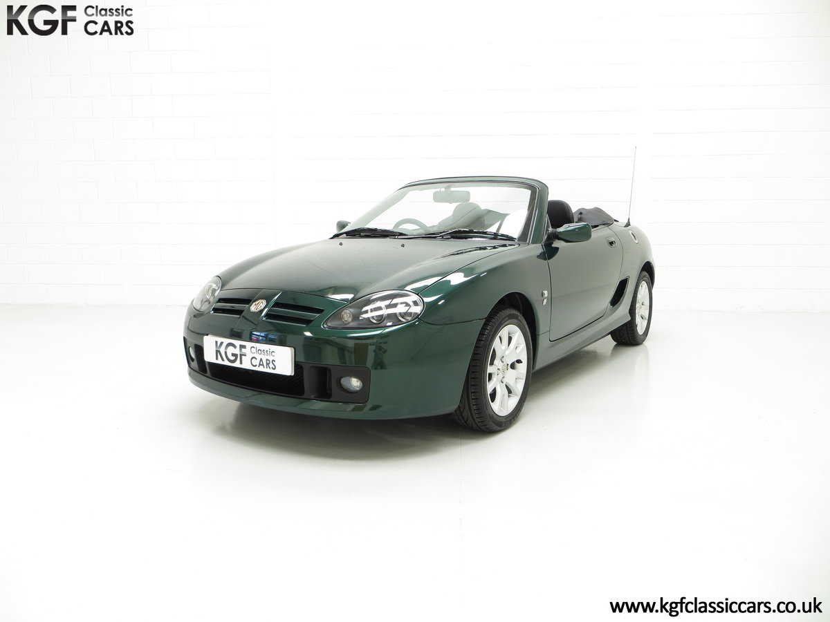 2006 An Astonishing Very Late MG TF 135 with 7,369 Miles SOLD (picture 6 of 24)
