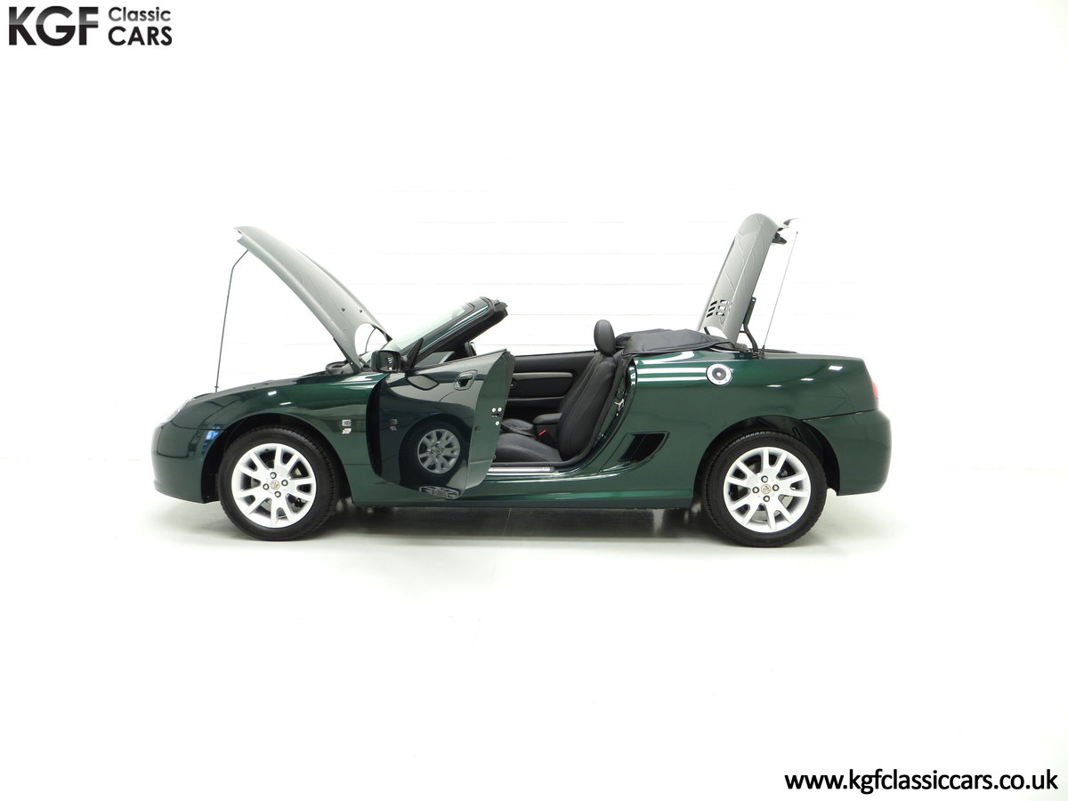 2006 An Astonishing Very Late MG TF 135 with 7,369 Miles SOLD (picture 7 of 24)