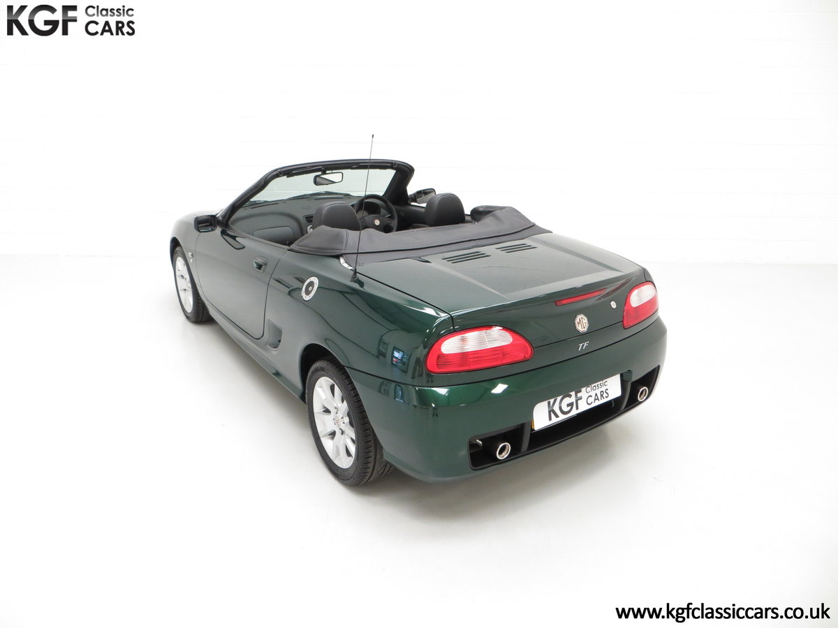 2006 An Astonishing Very Late MG TF 135 with 7,369 Miles SOLD (picture 9 of 24)