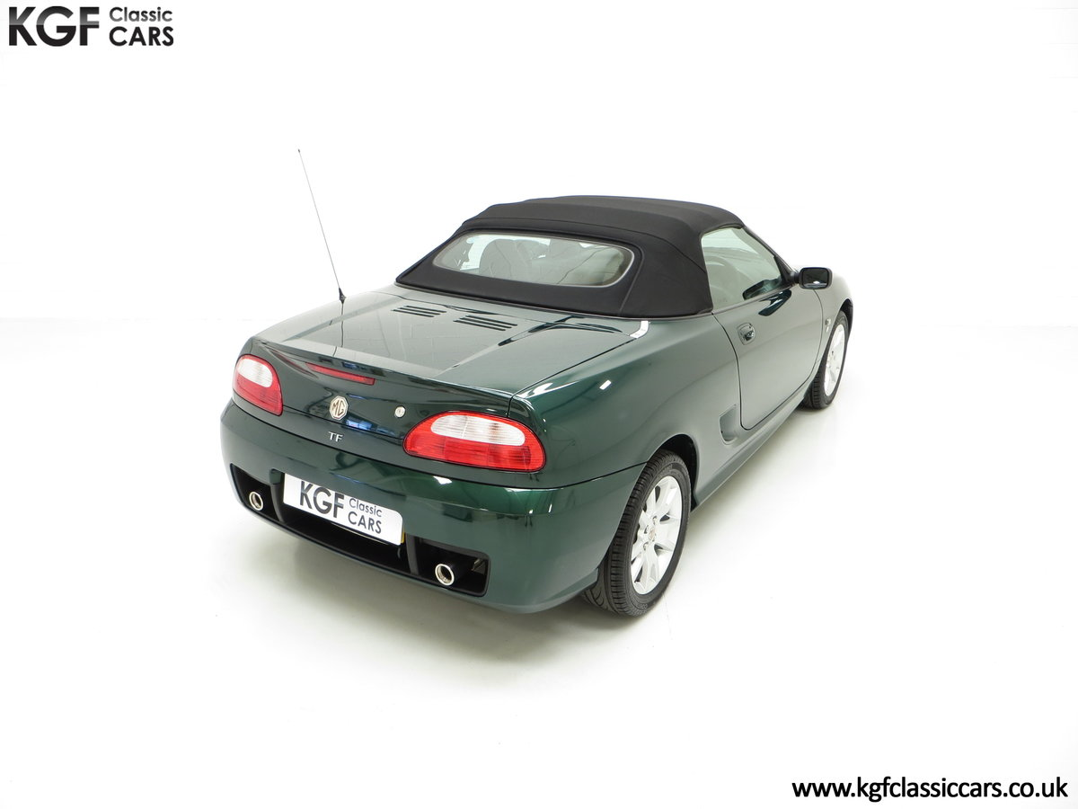 2006 An Astonishing Very Late MG TF 135 with 7,369 Miles SOLD (picture 12 of 24)