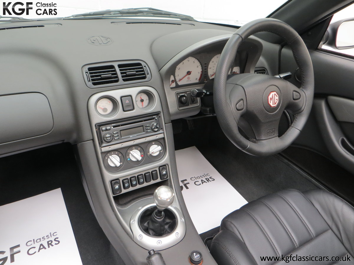 2006 An Astonishing Very Late MG TF 135 with 7,369 Miles SOLD (picture 23 of 24)