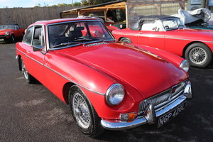 Picture of 1972 MGB GT ,Wires and overdrive. For Sale