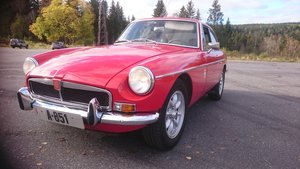 MGB GT V8 CONVERSION as factory spec, only nicer