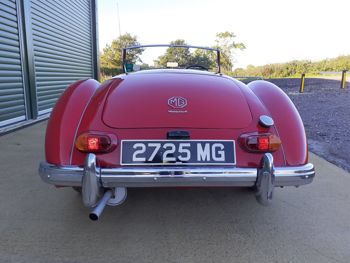 1961 MG MGA MKII Roadster 1600 For Sale (picture 4 of 6)