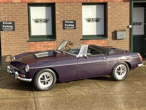 Picture of 1971 MGB Roadster, Black Tulip, 44000 miles For Sale