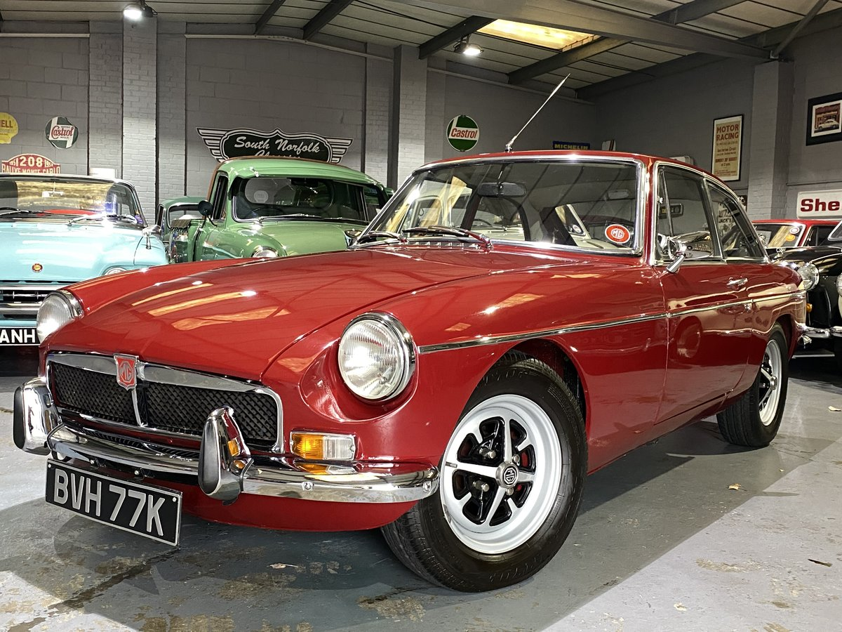 1972 MGB GT Damask Red, same family for 25 years  For Sale (picture 1 of 6)