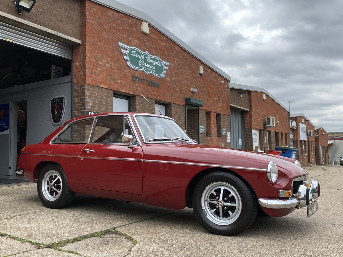 1972 MGB GT Damask Red, same family for 25 years  For Sale (picture 2 of 6)