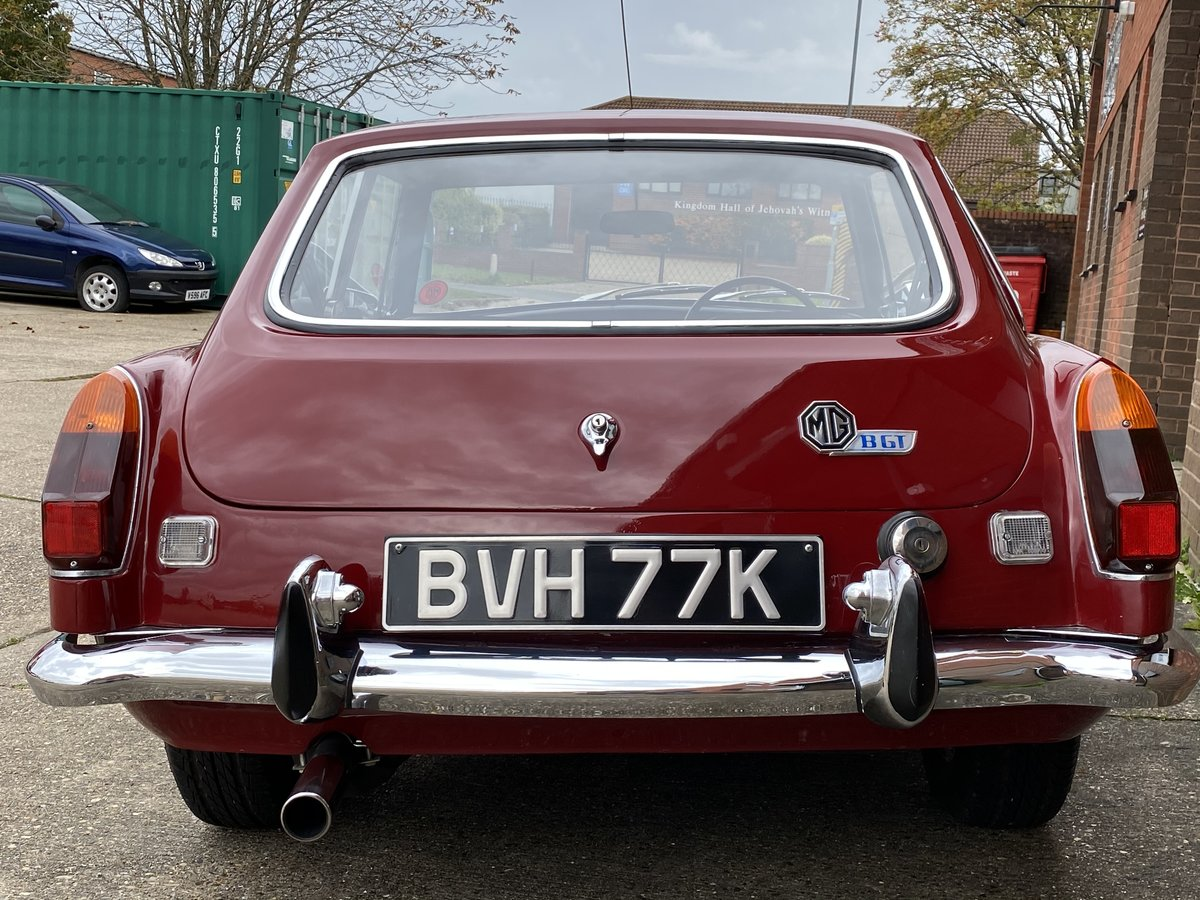1972 MGB GT Damask Red, same family for 25 years  For Sale (picture 4 of 6)