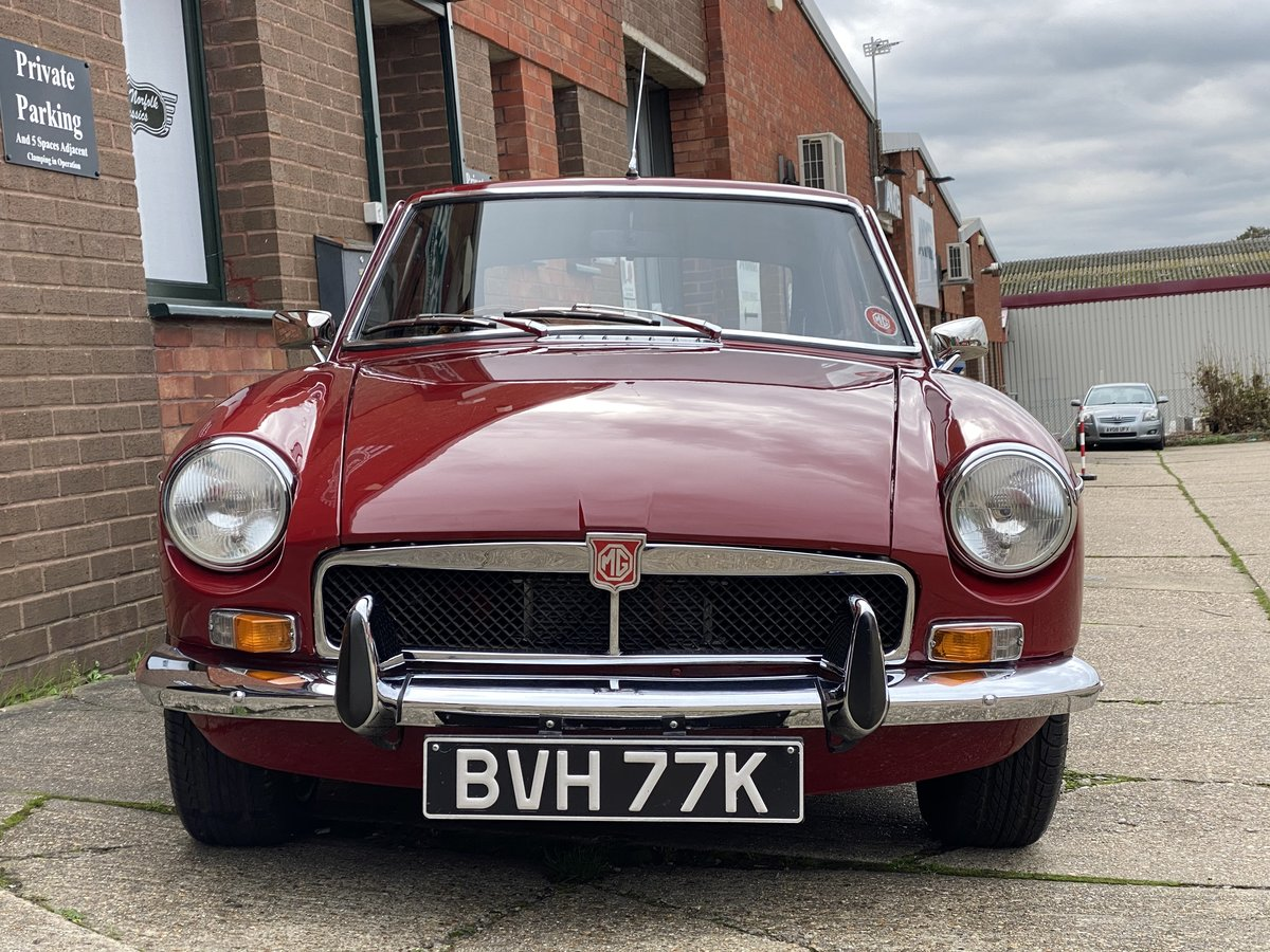1972 MGB GT Damask Red, same family for 25 years  For Sale (picture 6 of 6)