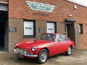 Picture of 1966 MGB GT, MK1, Overdrive, wires, fully restored  For Sale