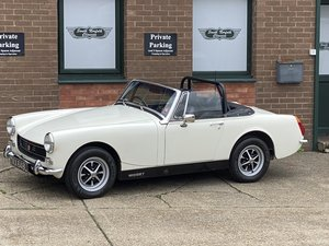 Picture of 1973 MG Midget 1275 RWA. 33000 miles from new  For Sale