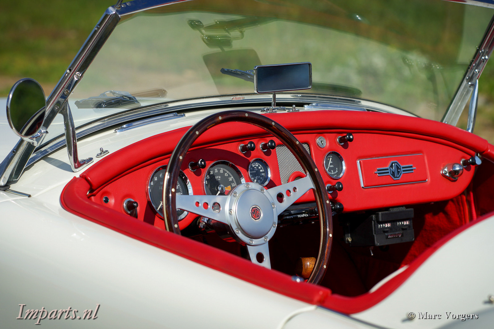 1959 Excellent MGA 1500 Roadster (LHD) For Sale (picture 2 of 6)