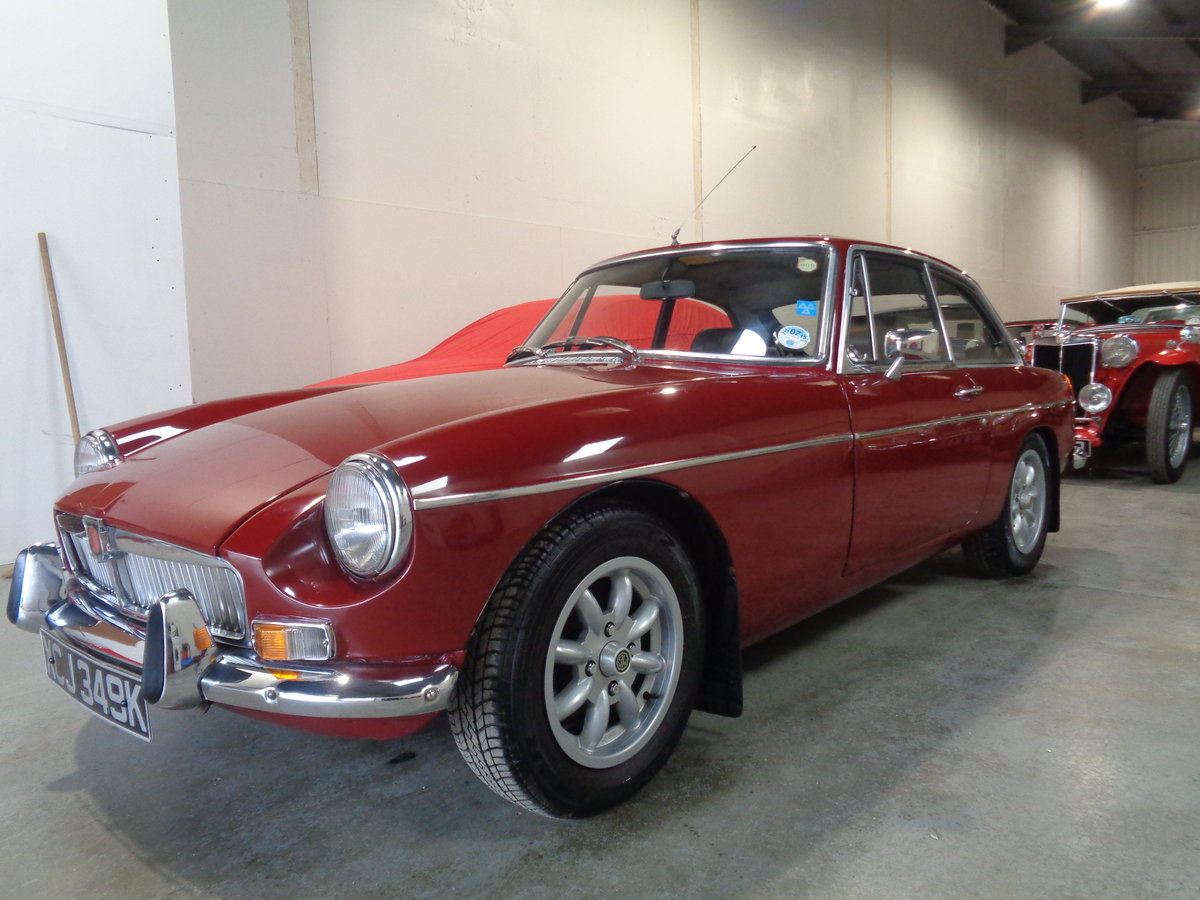 1972 Mbg gt - clean useable classic mg previous resto.. SOLD (picture 1 of 6)