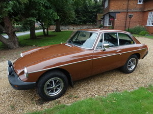 1979 MGB GT *Only 16,000 Miles*