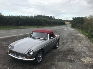 Picture of 1975 MGB Roadster 3.5 V8 rebuilt on new bodyshell For Sale