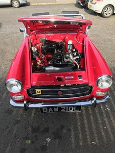 Picture of 1972 Mg midget full restored heritage shell