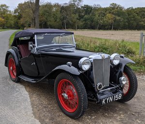 MG TC Matching Numbers Fully Restored 5-Speed