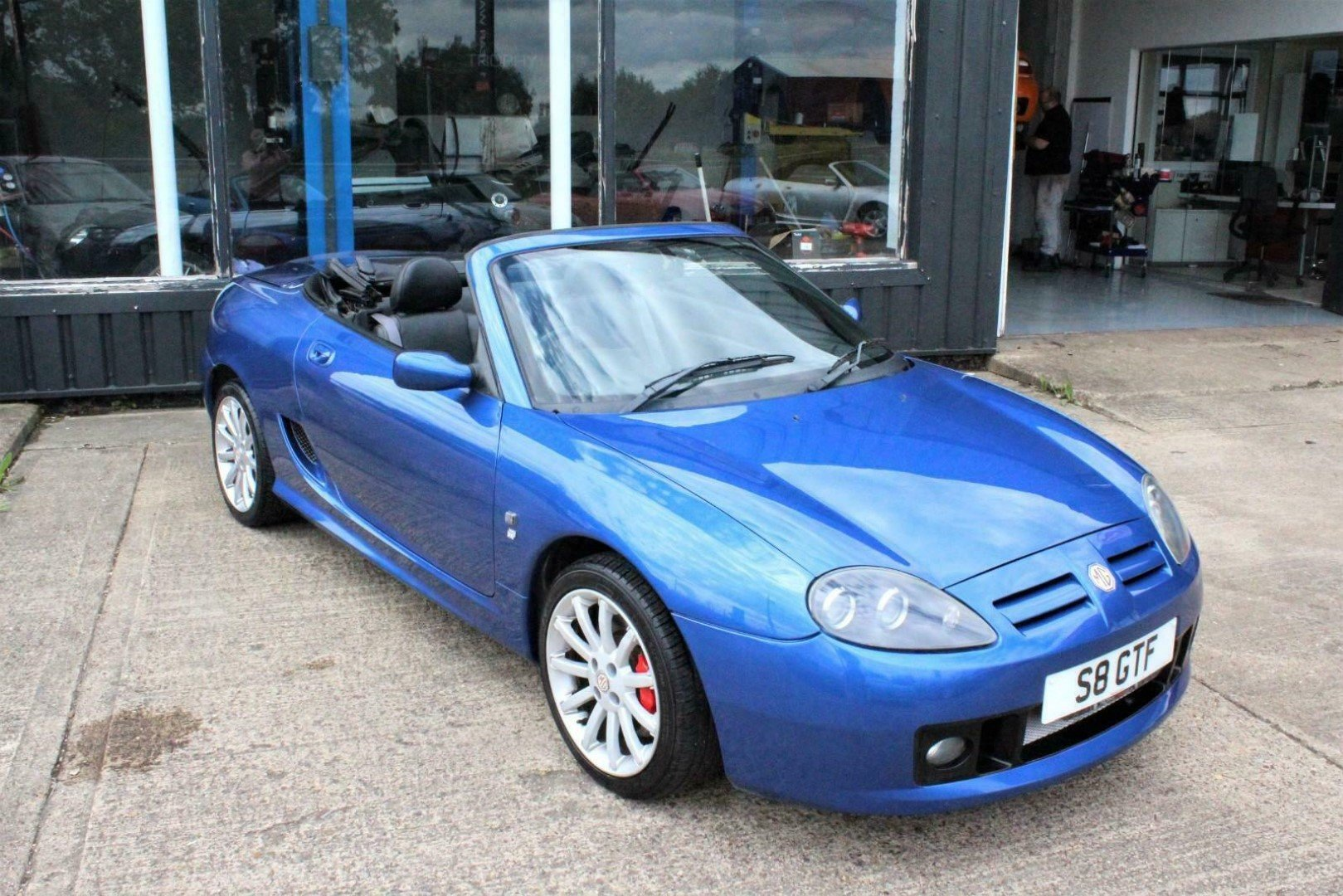 2003 MGTF 160,RARE COLOUR,OXFORD LEATHER,NEW HEADGASKET, For Sale (picture 1 of 6)