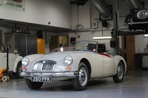 Picture of Original UK RHD 1959 MG A 1600 Roadster with great history For Sale