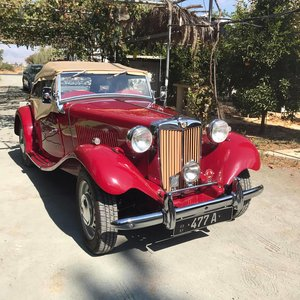 MG TD - Fully restored, bolt to nuts.